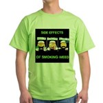 Side Effects Of Weed Green T-Shirt