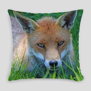 Fox Close Up Everyday Pillow