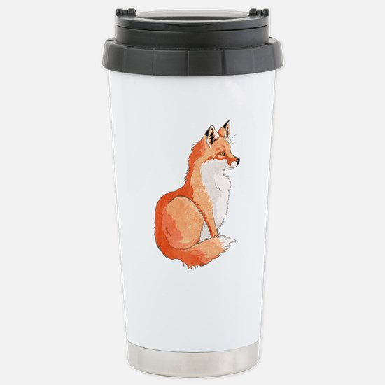 Sitting Fox Travel Mug
