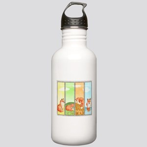 Season Of The Foxes Stainless Water Bottle 1.0l