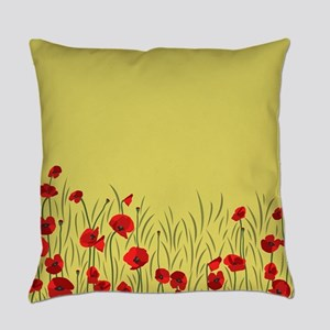 Spring poppies Everyday Pillow