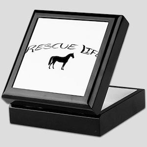 Rescue Life Horse Keepsake Box