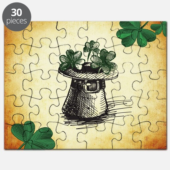 Cute Green st patricks day Puzzle