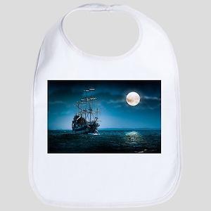 Moonlight Pirates Bib