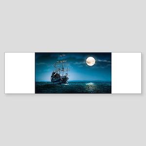 Moonlight Pirates Bumper Sticker