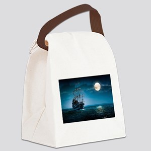 Moonlight Pirates Canvas Lunch Bag
