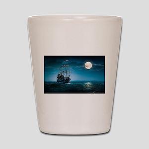 Moonlight Pirates Shot Glass