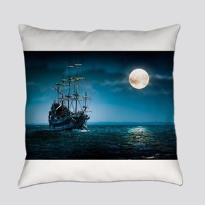 Moonlight Pirates Everyday Pillow