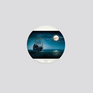 Moonlight Pirates Mini Button