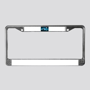 Moonlight Pirates License Plate Frame