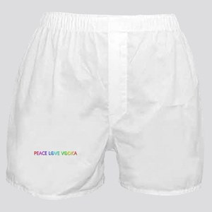 Peace Love Vodka Boxer Shorts