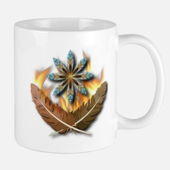 native Feathers Mug