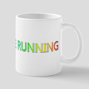 Peace Love Running Mugs