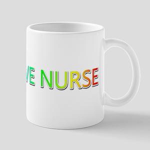 Peace Love Nurse Mugs