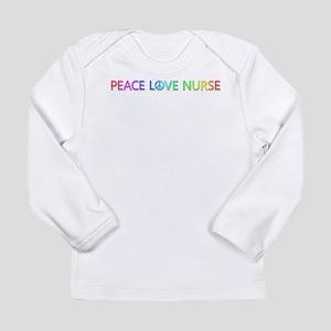 Peace Love Nurse Long Sleeve T-Shirt