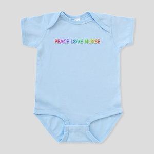 Peace Love Nurse Body Suit