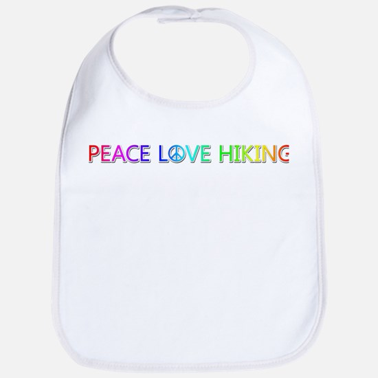 Peace Love Hiking Bib