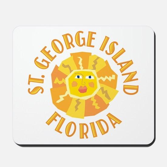 St. George Island Sun -  Mousepad