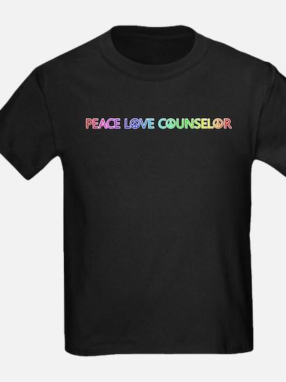 Peace Love Counselor T-Shirt