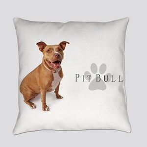 Pit Bull Everyday Pillow