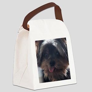 Mylee Yorkie Dog Canvas Lunch Bag