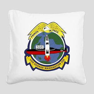 USS George Washington SSBN-59 Square Canvas Pillow