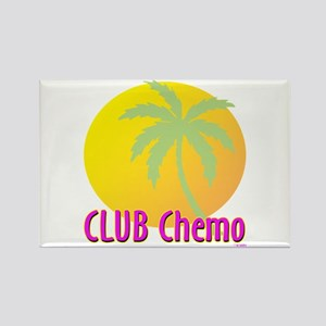 Club Chemo Rectangle Magnet