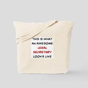 awesome legal secretary Tote Bag