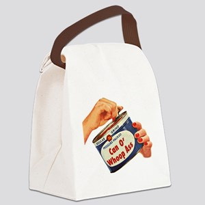 Can of Whoop Ass Canvas Lunch Bag