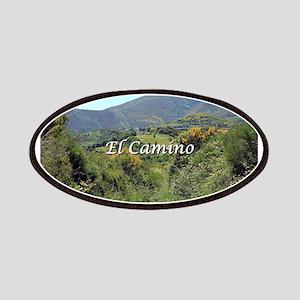 Mountains on El Camino near O'Cebreiro, Spai Patch