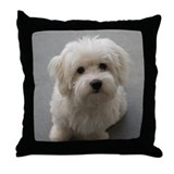 Dog coton de tulear Cotton Pillows