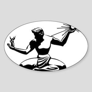 Spirit of Detroit Sticker