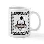 Checkerboard Logo Mug