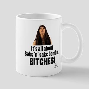 Saks n Sake Bombs Mug