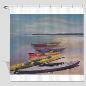 Kayaking Trip Shower Curtain