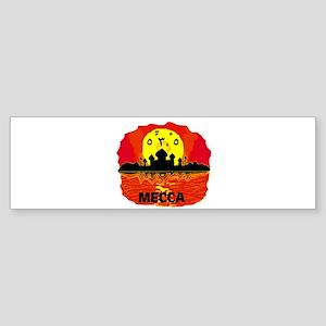MECCA SUNSET Bumper Sticker