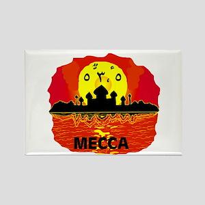 MECCA SUNSET Rectangle Magnet