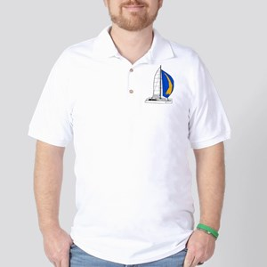 Catamaran Golf Shirt