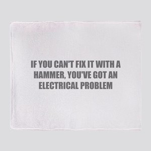 IF YOU CAN'T FIX IT WITH A HAMMER, YOU'VE GOT AN E