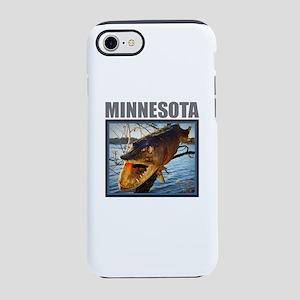 Minnesota - Fish in Tree iPhone 8/7 Tough Case