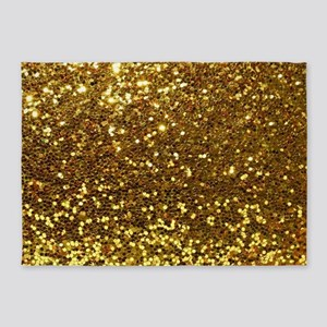 Luxurious Glamorous Sparkle Glitter 5'x7'Area Rug