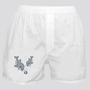 Soccer Dolphins Boxer Shorts