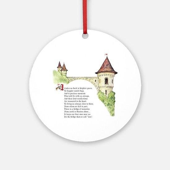 Cute Memory Round Ornament