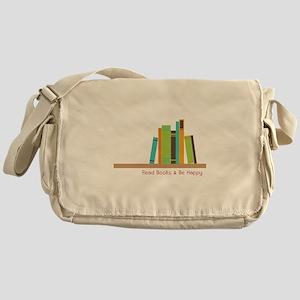 Read Books Messenger Bag