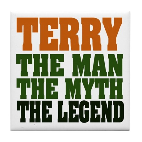 TERRY - the legend Tile Coaster