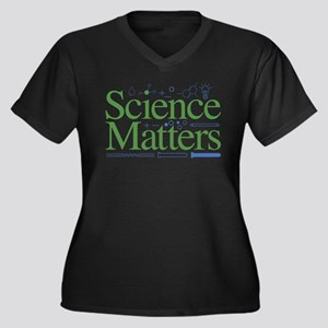 Science Matte Plus Size T-Shirt