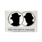 The Frytown Toughs Silhouette Magnets