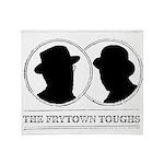 The Frytown Toughs Silhouette Throw Blanket