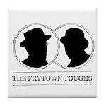 The Frytown Toughs Silhouette Tile Coaster