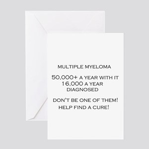 MM Find a Cure! Greeting Card